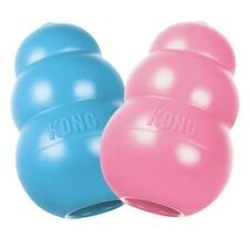 KONG Puppy Teething Rubber Chew Treats Toy Treat Dispenser XS, S, M, L or Treats