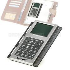 Digital-Rechner Organizer Terminplaner mit Universallochung für A4 A5 A6-Format