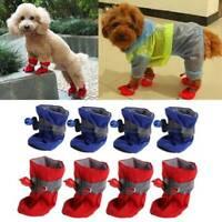 2019 Anti Slip Waterproof Protective Dog Shoes Sock Rain Boots Pet Booties