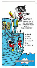 Vintage Brochure - AUSSIE HARBOUR CRUISES on the MV JOLLY ROGER - c1990 or prior
