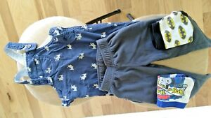 NEXT BABY UK, overalls for 9-12 months + Carters  bottom 9 months