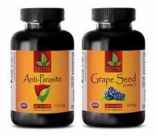 Antioxidant vitamin e supplement - ANTI PARASITE – GRAPE SEED EXTRACT COMBO