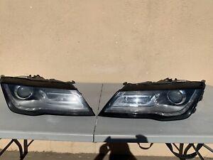 2016 2017 2018 Audi A7/ S7 Pair Set LED Headlight OEM