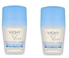 2  x  Vichy Mineral Aluminium Free Roll-On Deodorant 50ml
