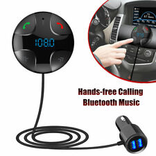Car Transmitter Receiver Bluetooth Fm Hands-Free Car Kit with Large Lcd Display