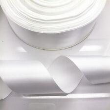New DIY 20 Yards 2inch 50mm width white Multi-purpose Bow Ribbon Wedding Crafts