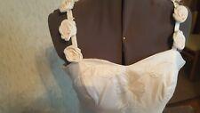 Cream wedding dress size 8