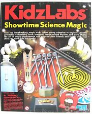 SHOWTIME SCIENCE MAGIC & TRICKS KIT BY KIDZ LABS 4M - BRAND NEW & SEALED!