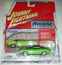 Green 1970 Plymouth Barracuda Mopar or No Car 15 Johnny Lightning 1:64 2003 1B