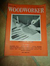 WOODWORKER August 1959 ~ Retro Vintage Illustrated Magazine + Advertising
