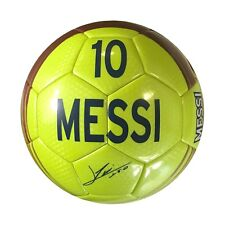 LIONEL MESSI #10 FC BARCELONA SIGNATURE SIZE 5 SOCCER BALL FREE SHIPPING USA