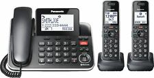Panasonic - Corded/Cordless Phone - Black