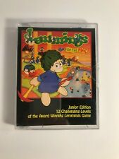 VINTAGE Lemmings Apple Mac 1992 Psygnosis DEMO Game Floppy Disk RARE