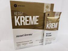 Pruvit Keto Kreme -With Functional Fat Technology (FTT) 20 Packets,BRAND NEW!!