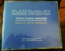 Iron maiden PROMO brave new world cd official rare!!!!!