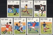Cambodia 1990 Football/WC/World Cup/Italia 90/Sports/Games/Soccer 7v set  b10093