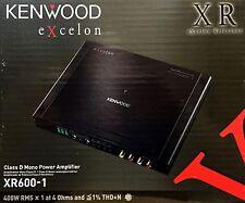 NEW Kenwood eXcelon Series XR600-1 Mono Class D Subwoofer Amplifier