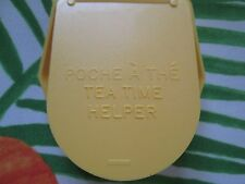 VINTAGE TUPPERWARE**TEA TIME HELPER IN YELLOW **NEW** OLD STOCK 1983** RARE**