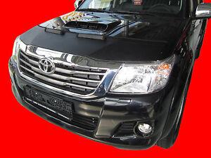 CAR HOOD BONNET BRA fit Toyota Hilux 2005-2015  NOSE FRONT END MASK TUNING