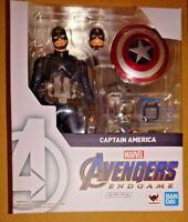 Bandai S.H.Figuarts Avengers Endgame Captain America Action Figure Marvel