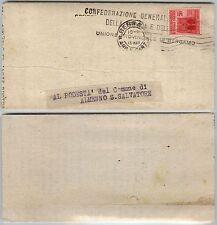 RSI-20c(504) isolato su documento Bergamo->Almenno 17.3.1945