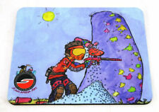 "Social Paintball & Kazlambia Art Collaboration Mouse Pad Sponsored 9"" x 8"" New"