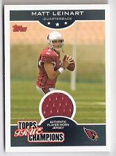Matt Leinart Cardinals 2006 Topps True Champions Jersey Card TTC-ML NFL #046/199