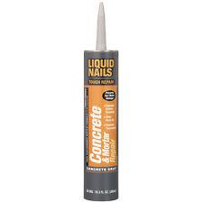 Liquid Nails CONCRETE & MORTAR REPAIR Fills & Seals Cracks PREVENTS ICE/WATER DA