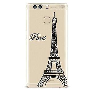 Case Flexible Transparent With Print Fantasy for Huawei P9 (Paris)