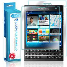 2x iLLumi AquaShield Front Screen + Back Panel Protector for BlackBerry Passport