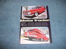 "1959 Chevrolet Sedan Delivery RestoRod Article ""Mutha Trucker"" Impala"