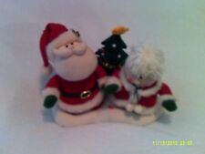"""Animated Santa & Mrs. Claus Play """"We Wish you a Merry Christmas"""""""