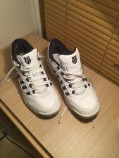 Zapatillas para hombre K. Swiss blanco tamaño de Reino Unido 11 Blanco Encaje Peso ligero utilizado