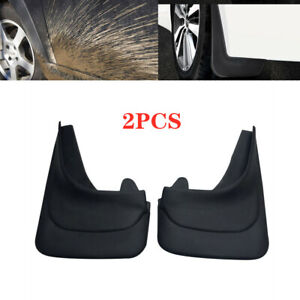 2PCS Car Universal Mud Flaps Mudgurads Fender Dust Guards Protect Cover Plate