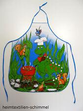 Kinder Schürze Kochschürze Backschürze Küchenschürze Kinderwerkschürze DINO