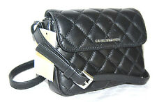 MICHAEL KORS Neu Tasche Sloan Belt-Bag schwarz black Handtasche Leder