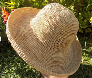 chapeau de paille grande taille chapeau fait main