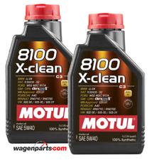 Aceite Motor Motul 8100 X-Clean 5W40 ACEA C3, 2 Litros