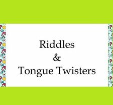 RIDDLES and TONGUE TWISTERS 737 MX 2 CANARY 2 GOLD WATCH PDF-eBOOK FAST DELIVERY