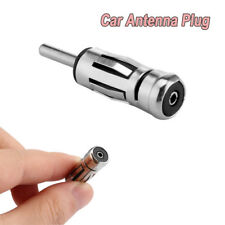 Car Radio Stereo ISO to DIN Aerial Antenna Adaptor Connector For Radio Adapter