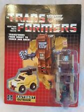Hasbro Transformers KO Gen 1 Minibots Outback Unpunched Card (Please Read)