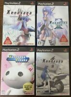 PS2 Xenosaga Episode I & II & III & Freaks 4 game set Japan PlayStation 2