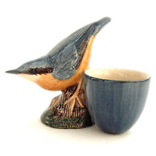 Quail Ceramics - Nuthatch with Egg Cup