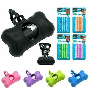 Dog Poo Bag Dispenser   Lead Attachment Bag Holder   Dog Poo Bags   Poop Bags UK