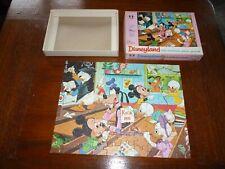SCARCE DISNEY 1970's Mini Disneyland  UK  Jigsaw Puzzle  100 piece COMPLETE # 4