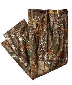 Berne Men's Camo Hunting Field Pants Mossy Oak Infinity