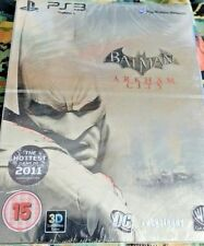 batman arkham city steelbook penguin ps3 sealed