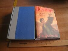 Harry Potter and the Deathly Hallows hardcover HBDJ 1st edition 1st print 2003
