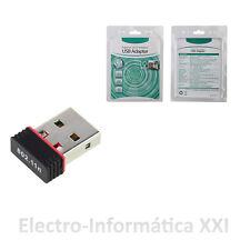 Antena Wifi Usb 3,5 Cm Adaptador Wifi 150mbp Chip Ralink Rt5370 Alta Velocidad