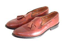 Allen Edmonds Mens Acheson Slip-On Tassle Loafer, Brown, Leather, Sz.10M / EU44